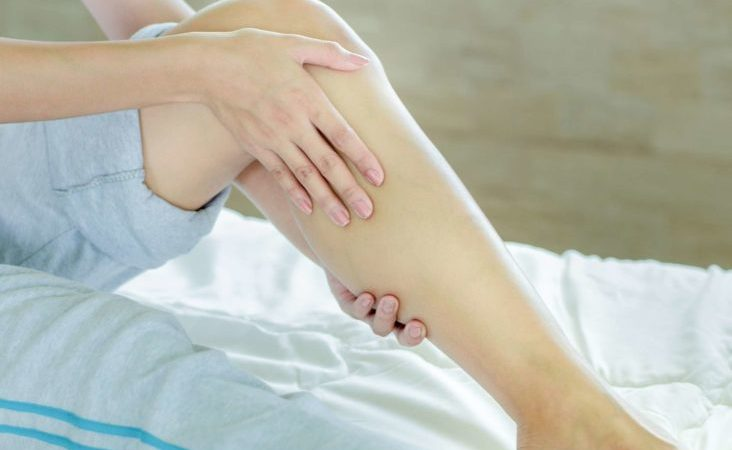 How to relieve cramp in the leg, belly or calf