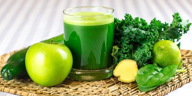 6 detox kale juices for Weight-Loss