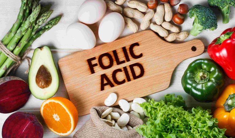13 foods rich in folic acid and reference values