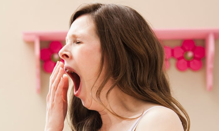 Why does a person yawn?
