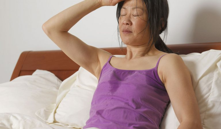 Why does your head sweat in your sleep?